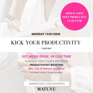 Kick your productivity